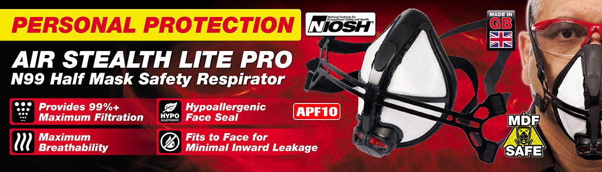 Stealth Lite Pro N99 Half Mask Respirator